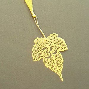 Other - Bookmark Indian Design- metal cutting- Om ॐ ओम्